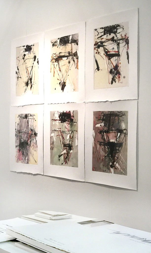 Monotypes by Tom Lieber
