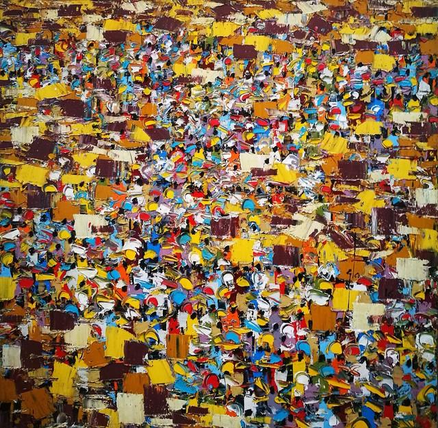 , 'MARKET,' 2016, LouiSimone Guirandou Gallery