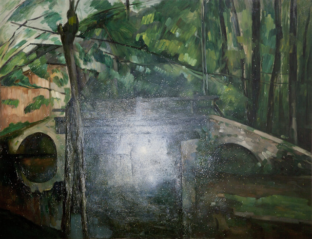 , 'Light Source - Le Pont de Maincy,' 2013, Tianrenheyi Art Center