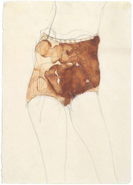 , 'Mädchen (Hasenblut),' 1957, Galerie Ruberl