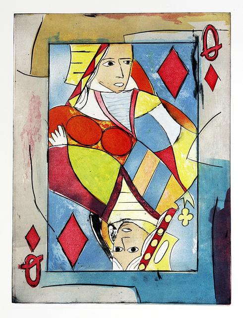 , 'Queen of Diamonds,' 2008, Momentum Gallery