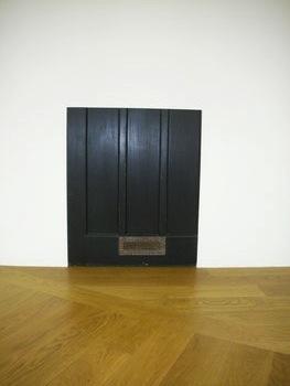 , 'Entrance door (Mute),' 2013, Galerie Jocelyn Wolff