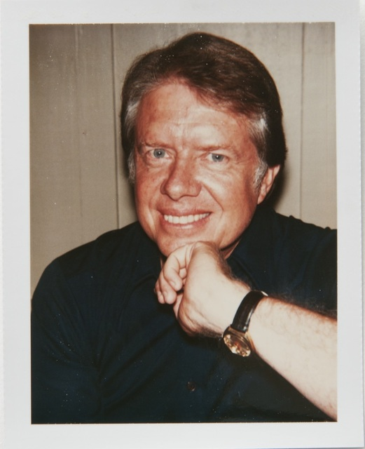 Andy Warhol, 'Andy Warhol, Polaroid Portrait of Jimmy Carter', 1976, Hedges Projects