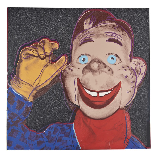 Andy Warhol, 'Howdy Doody (FS II. 263)', 1981, Print, Screenprint on Lenox Museum Board with Diamond Dust, Revolver Gallery