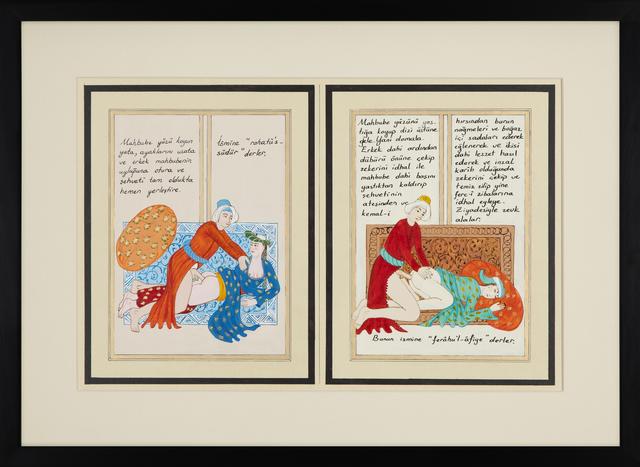 , 'BAHNAME II (3-4) / LUSTBOOK II (3-4),' 2015, RAMPA