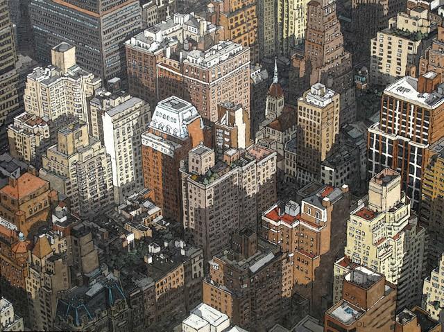 , 'New York,' 2014, galerie bruno massa