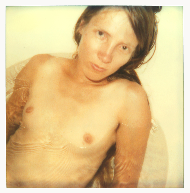 Stefanie Schneider, 'Stevie in Bathub (29 Palms, CA)', 1999, Photography, Analog C-Print (Vintage Print), hand-printed by the artist, based on an expired Polaroid, not mounted, Instantdreams