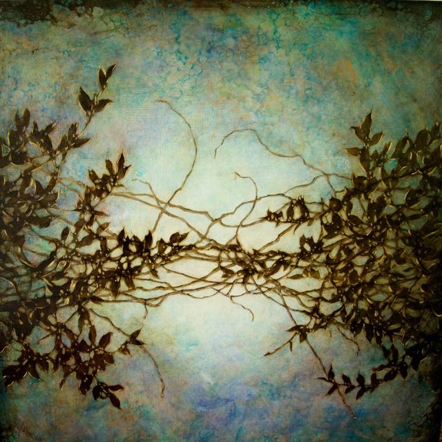 , 'Wisteria in Blue,' 2014, Elisa Contemporary