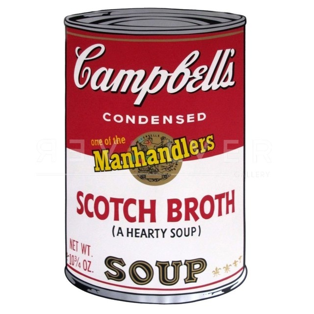 Andy Warhol, 'Scotch Broth Soup, from Campbell's Soup II', 1969, Print, Original colour Screenprint on Lenox Museum Board in excellent condition., Hidden
