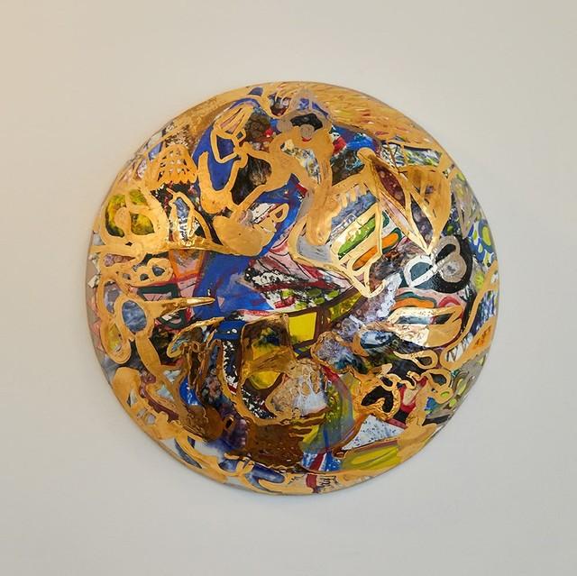 Reinaldo Sanguino, 'Metallic Ceramic Wall Bubble', 2017, The Future Perfect