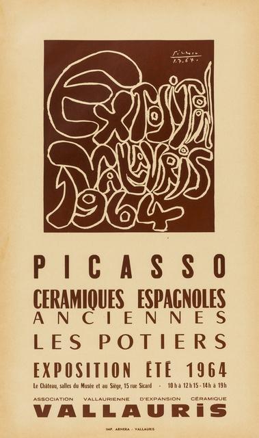 Pablo Picasso, 'Exposition, Valarius, Ceramiques Espagnoles Anciennes Les Potiers (CZW 229); Picasso, les potiers (CZW 220)', Forum Auctions