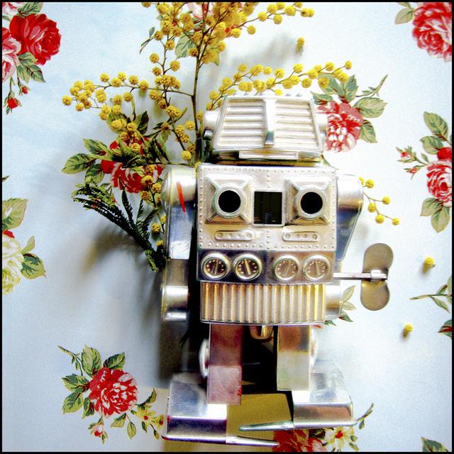 Captain Fluo, 'Mimi, le robot', ca. 2009, Photography, C-print, VOZ'Galerie