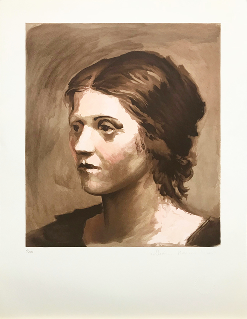 Pablo Picasso, 'OLGA PICASSO', 1979-1982, Reproduction, LITHOGRAPH ON ARCHES PAPER, Gallery Art