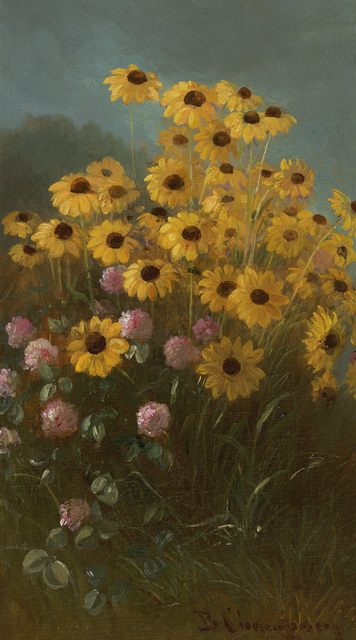 , 'Still Life with Black-Eyed Susans and Clover,' , Debra Force Fine Art