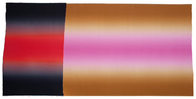 , 'Hombre Black Red Black, Brown Pink Brown,' 2012, Galerie nächst St. Stephan Rosemarie Schwarzwälder