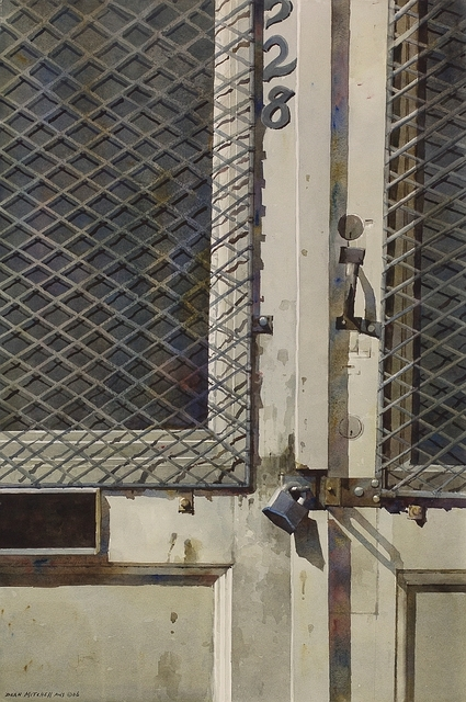 , 'French Quarter Door,' 2006, Cutter & Cutter Fine Art