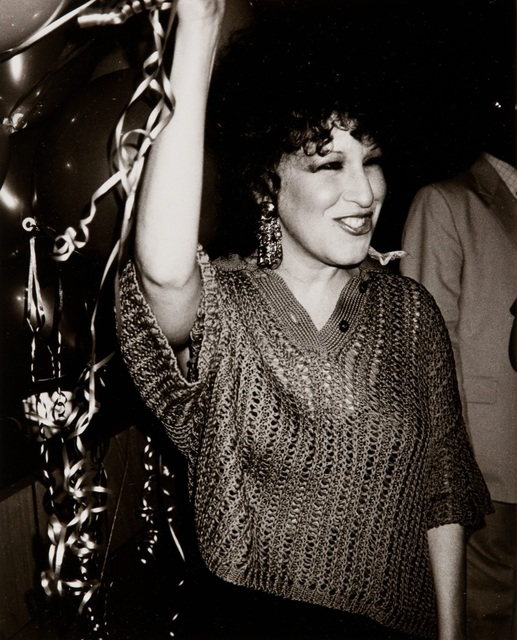 Andy Warhol, 'Andy Warhol Photograph of Bette Midler at Studio 54', Hedges Projects