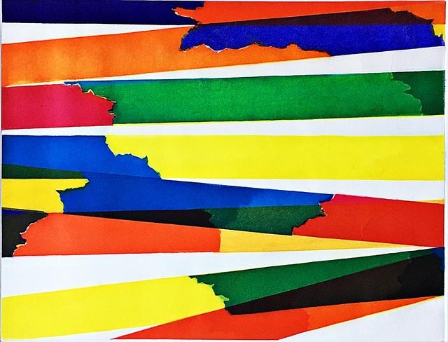 Piero Dorazio, 'Untitled Geometric Abstraction', 1968, Alpha 137 Gallery