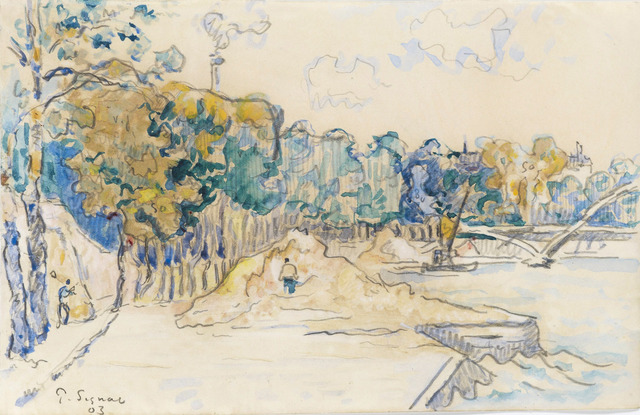 Paul Signac, 'Paris, la passerelle Debilly', 1903, Stoppenbach & Delestre