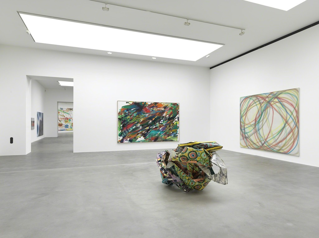 """""""Sprayed"""" Installation view  Photo by Mike Bruce"""