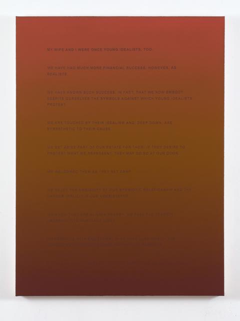 , 'The Patrons,' 2013, Luis De Jesus Los Angeles