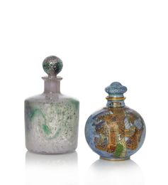 a cased glass bottle and stopper, shape SH