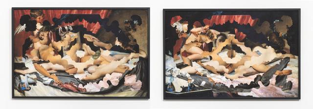 , 'Nues Endroit/Nues Envers II,' 2014, Sabrina Amrani