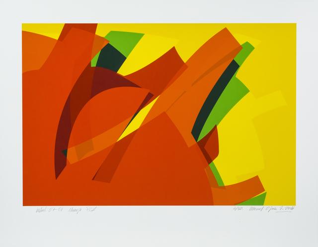 , 'MTCAL 0701 Naranja PCV,' 2016, Marion Gallery
