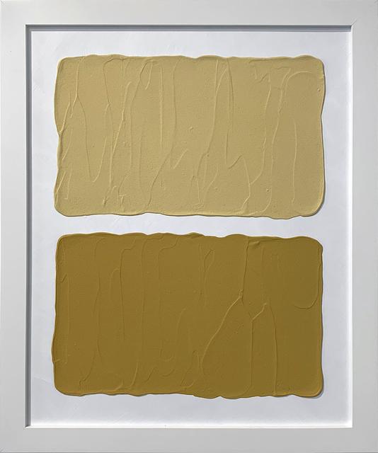Laura Hapka, 'Diaton Hotcakes', 2020, Mixed Media, Acrylic on mat board, Themes+Projects