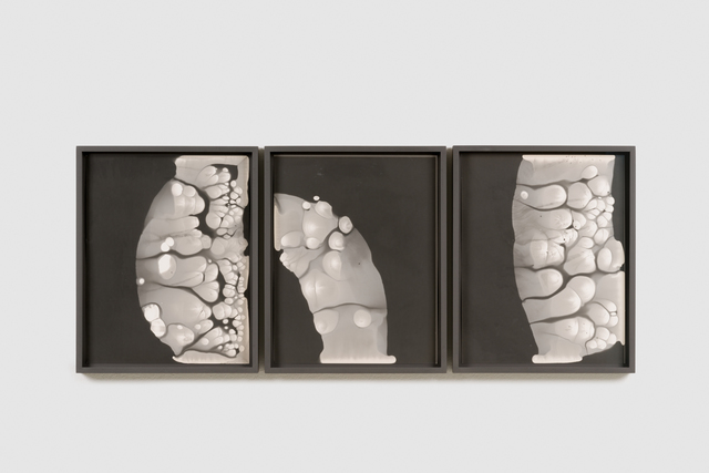 , 'Silver migration #3, #4, #5,' 2018, Martin Asbæk Gallery