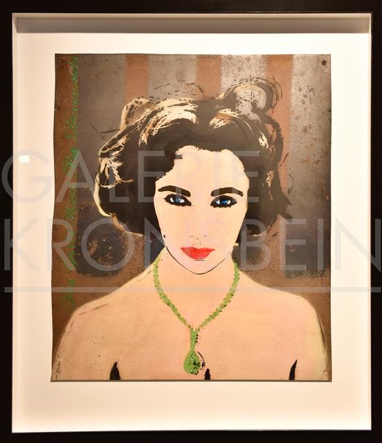 , 'Liz (green),' 2010, Galerie Kronsbein