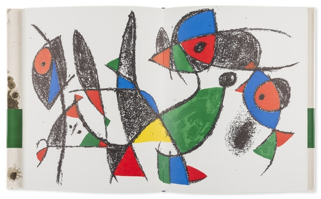 Joan Miró, 'Miro Lithograph II', 1975, Forum Auctions