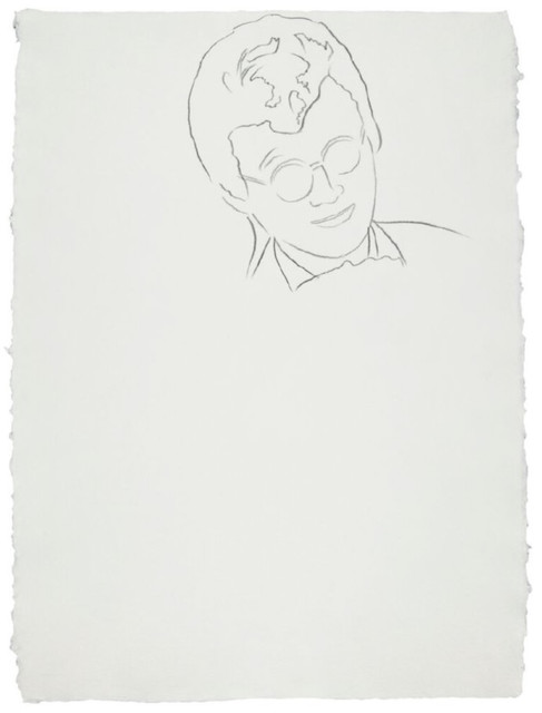 Andy Warhol, 'Rats & Star Band Member', ca. 1983, Drawing, Collage or other Work on Paper, Graphite on Paper, Hedges Projects