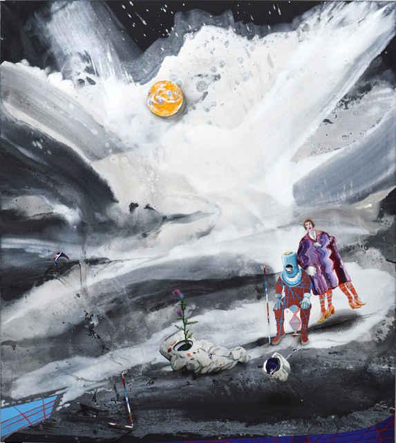 , 'Cloud Chamber 4 - Astronauts,' 2018, Aki Gallery