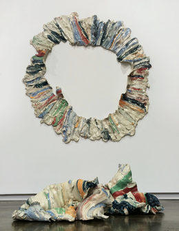 , 'Perimeter with Crumpled Center,' 2013, Arsenal Contemporary