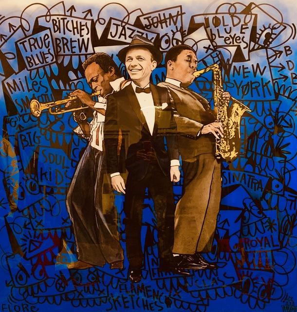 , 'Sinatra x Coltrain x Davis ,' ca. 2019, Mouche Gallery