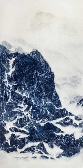 , 'Cyano-Collage 009,' 2017, Galerie du Monde