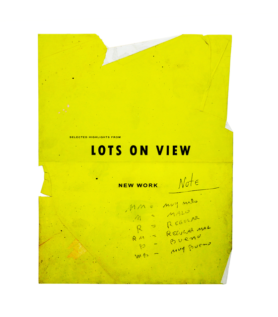 Ryan Brown, 'Lots on View', 2017, Drawing, Collage or other Work on Paper, Acrylic, ink, watercolor and graphite on paper, Bryce Wolkowitz Gallery