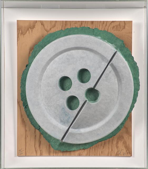 Claes Oldenburg, 'Broken Button (Split Button)', 1981, Rago