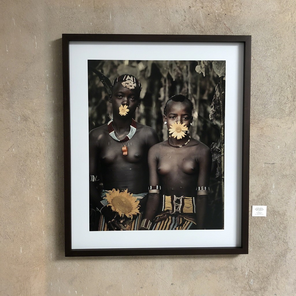 Barga&Hammarech; Banna Tribe- Bori village Southern Omo Valley, Ethiopia  Edition 6 120*100cm Archival Print