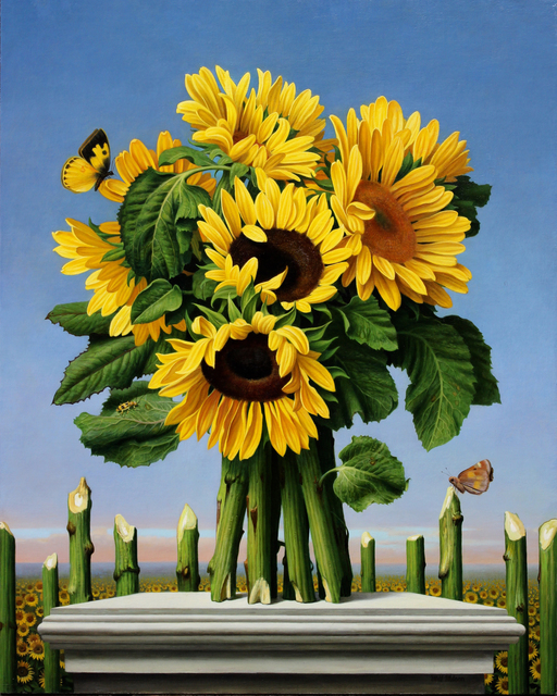 Will Wilson, 'Girasol', 2020, Painting, Oil on Canvas on Panel, Gallery Henoch