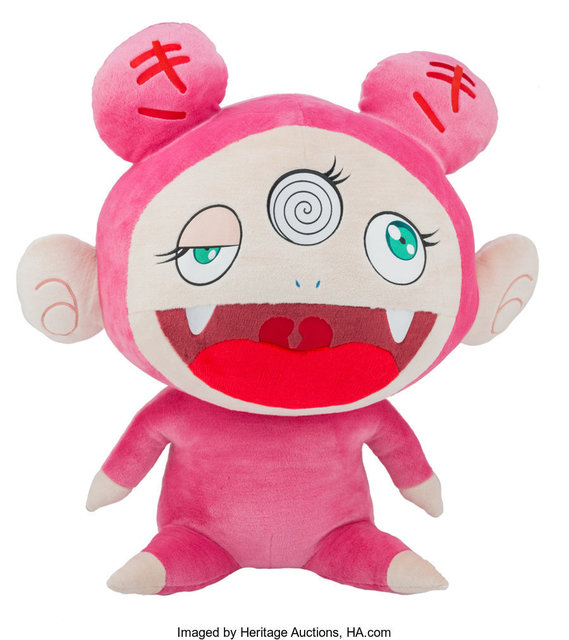 Takashi Murakami, 'Kiki XL Plush (Pink)', 2019, Heritage Auctions
