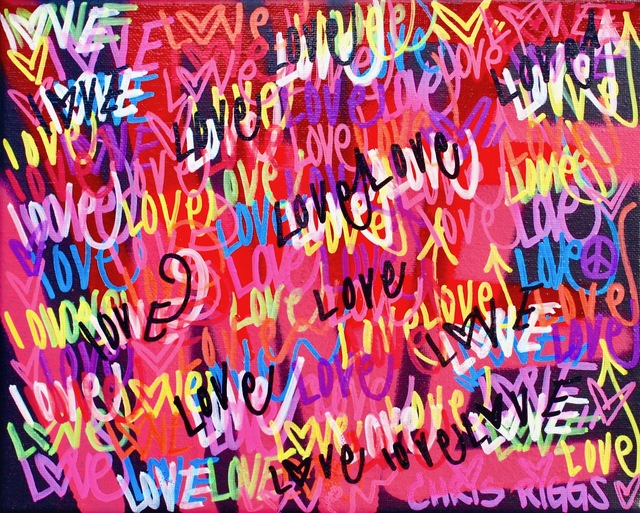 , 'Love Canvas 2,' 2018, Open Mind Art Space
