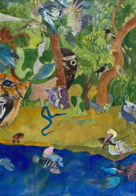 , 'INDIGO SNAKE,' 1975, Jerald Melberg Gallery