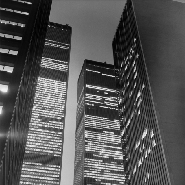 Peter Hujar, 'The World Trade Center at Night,' 1976, Peter Hujar Archive