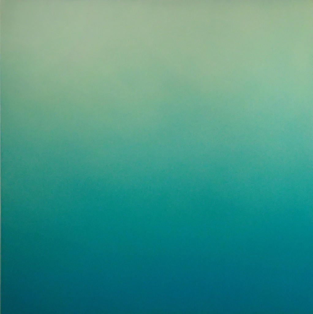"Lindsy Halleckson ""Silent Search - No. 44"" 30"" x 30"" acrylic on canvas"