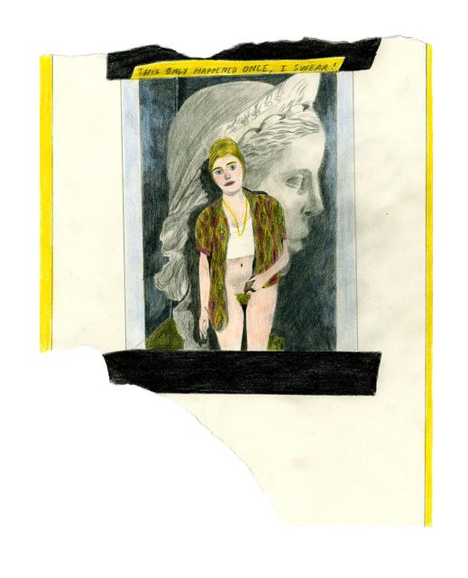 Marie Jacotey, 'I swear', 2013, Hannah Barry Gallery