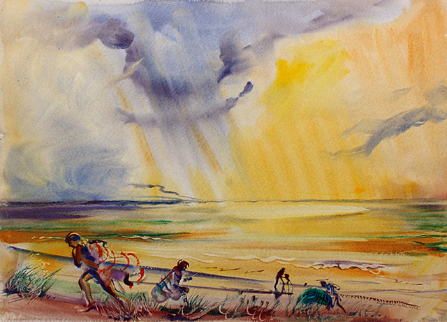 , 'Golden Sea,' 1939, Benjaman Gallery Group