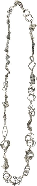 "Imogene ""Tex"" Gieling, 'Necklace Silver 45 inches (114.3 cm', Heritage Auctions"