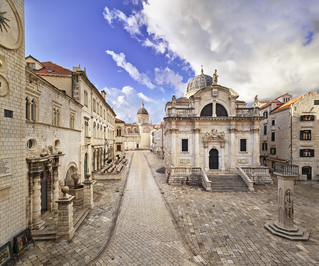 , 'View from the Terrace of the Sponza Palace, Dubrovnik,' 2017, Museum of Modern Art Dubrovnik